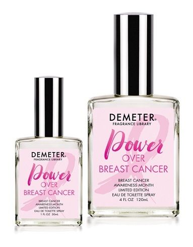 Demeter limited edition fragrance -- Power Over Breast Cancer