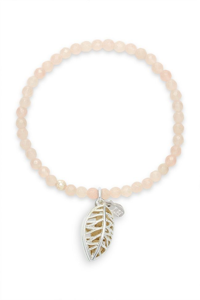 Lisa Hoffman's limited edition Rose Quartz Hope Fragrance Bracelet  donates 10% of profits to BCA