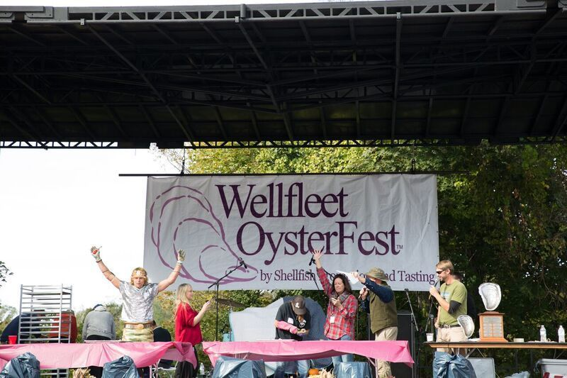 """""""They didn't all just stay home and feel badly for themselves, they put on the fest anyway and know the oysters will be back"""