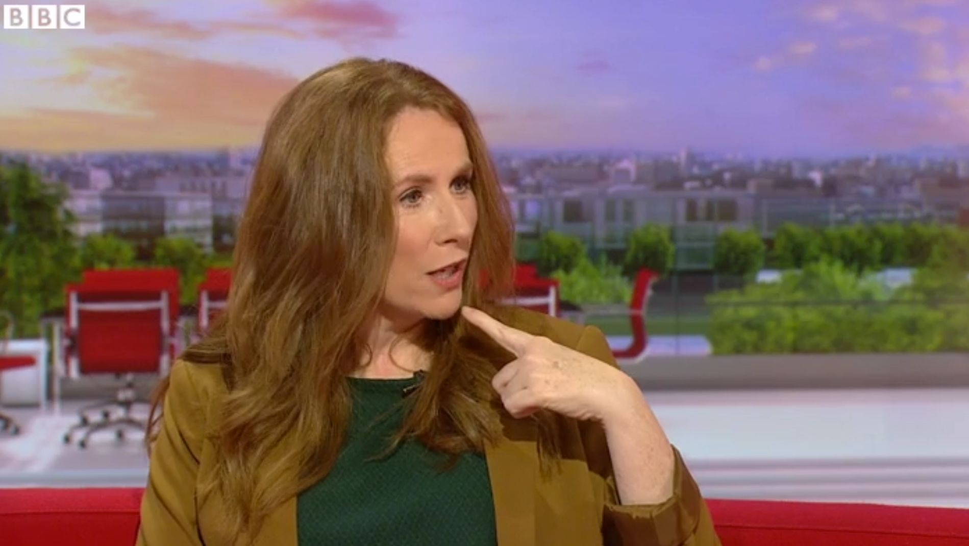 Catherine Tate 'Ain't Bovvered' About 'BBC Breakfast' Catchphrase Faux