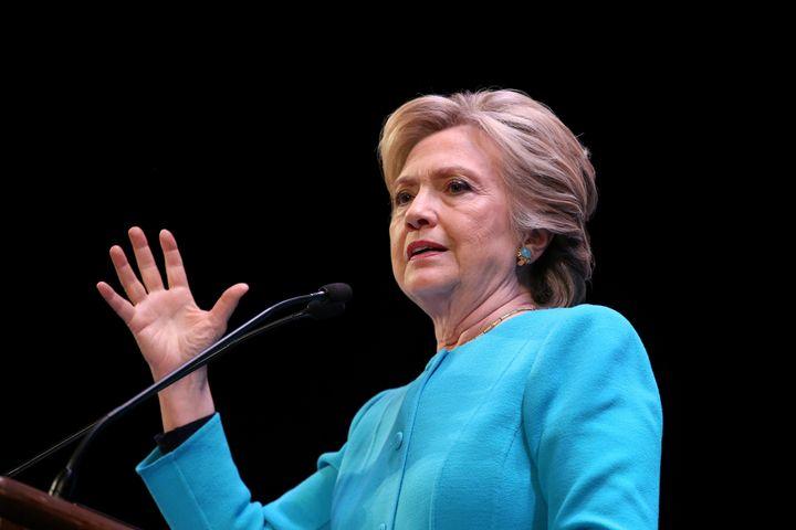 U.S. Democratic presidential nominee Hillary Clinton speaks at a fundraiser in Seattle, Washington, U.S., October 14, 2016. (