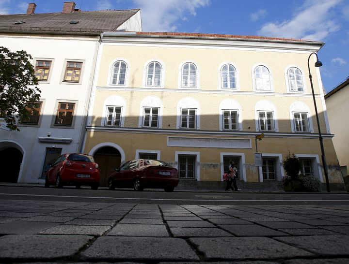 The house in which Adolf Hitler was born in Braunau am Inn, Austria, is seen in this September 24, 2012.