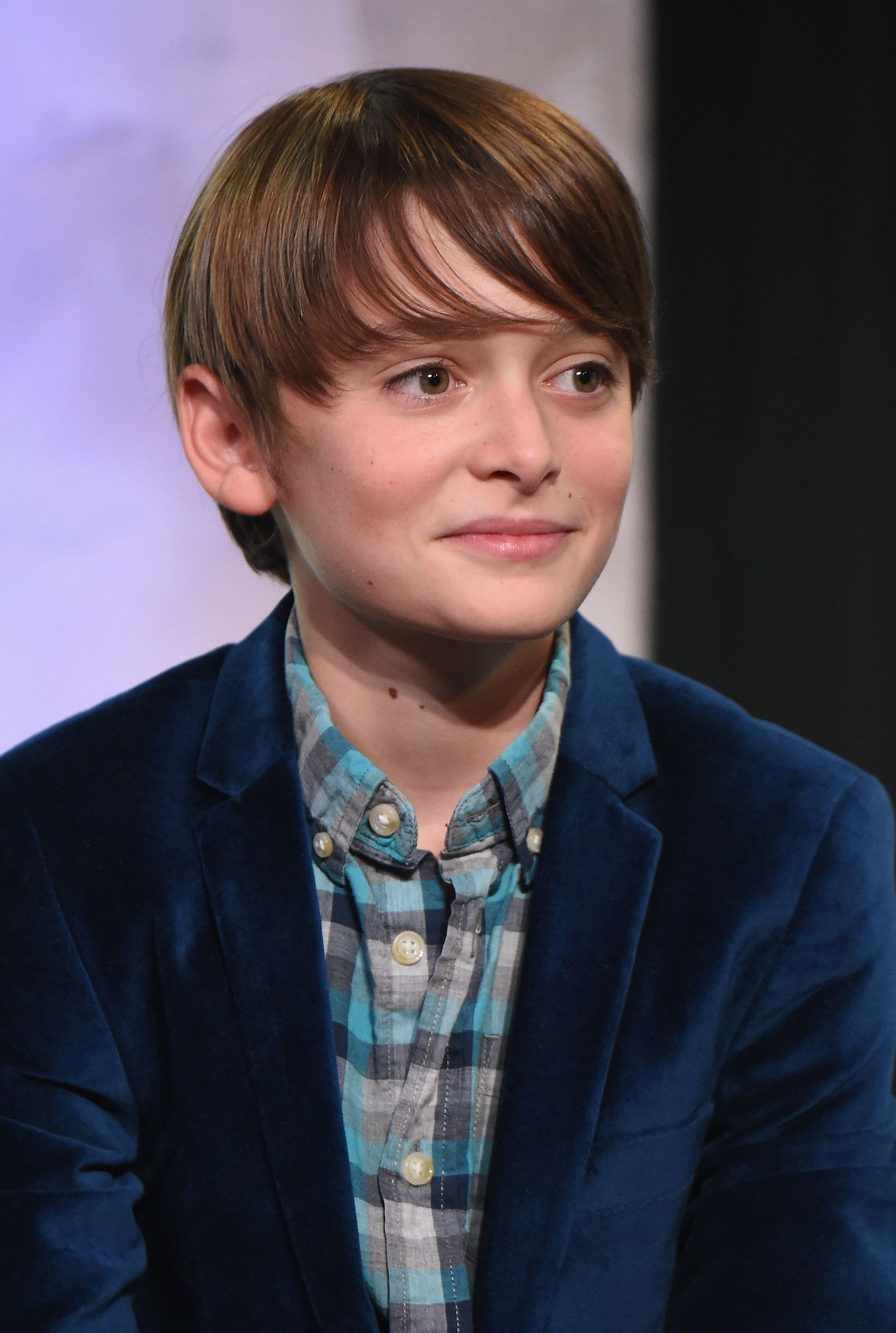 NEW YORK, NY - AUGUST 31:  Actor Noah Schnapp of 'Stranger Things' attends the BUILD Series at AOL HQ on August 31, 2016 in New York City.  (Photo by Michael Loccisano/Getty Images)
