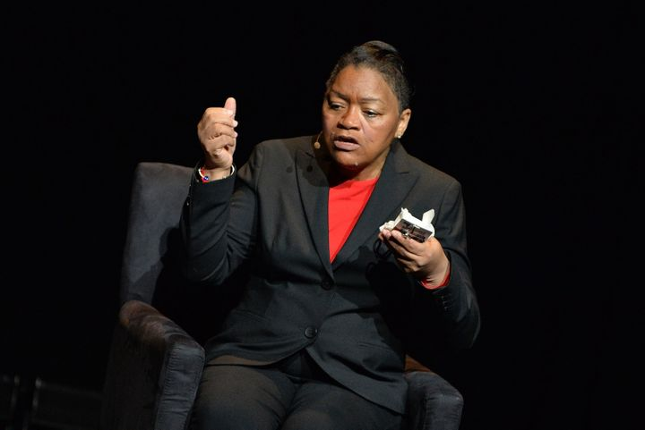 Venida Browder spoke outabout the failures of the criminal justice system that led to her son's death.