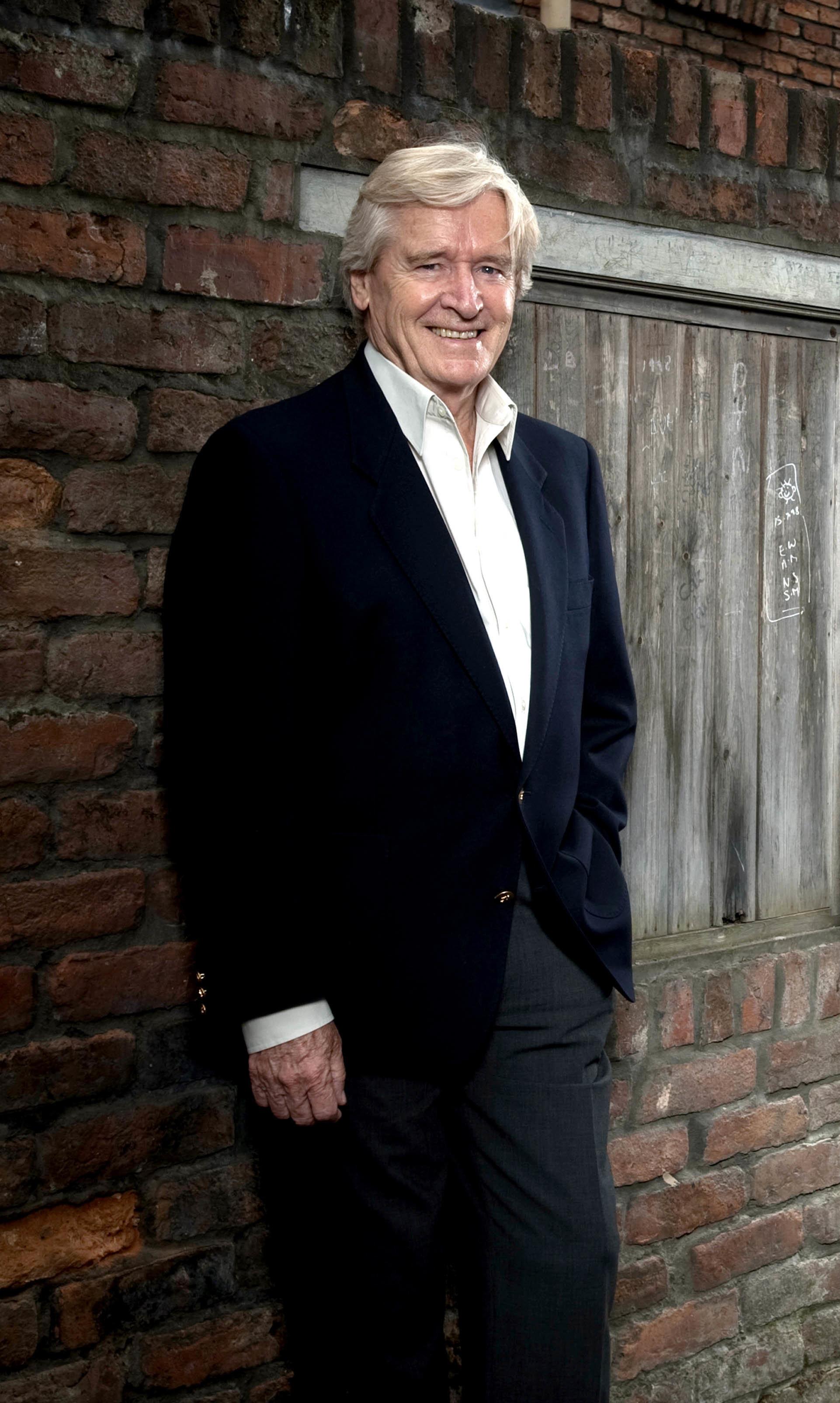 'Corrie' Veteran Bill Roache Discusses Shock Stroke