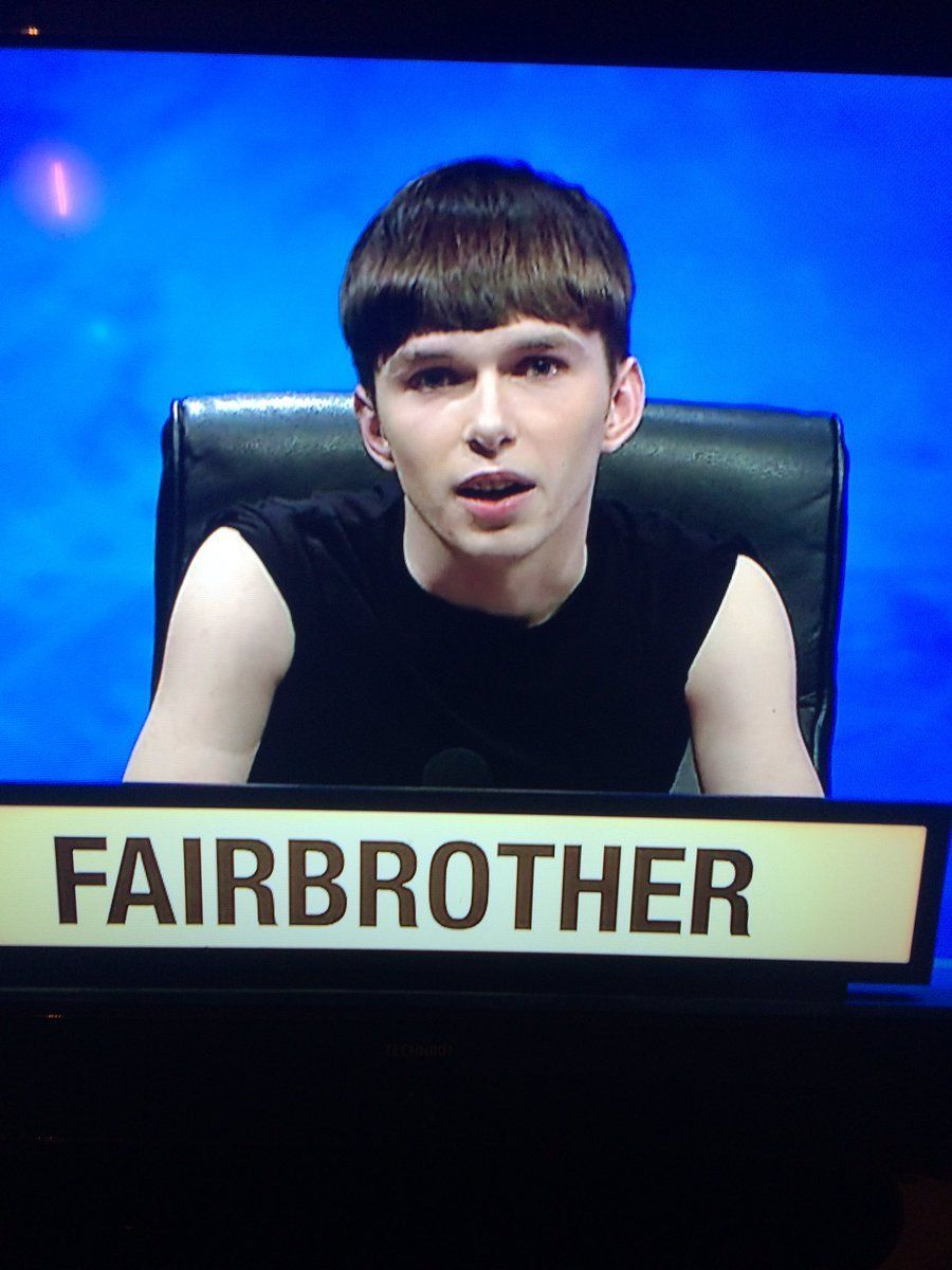 University Challenge Contestant Sam Fairbrother Has Viewers