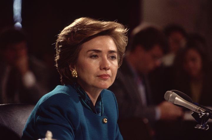 """""""I've tried to lead an integrated life,"""" Hillary Clinton told The Washington Post in a 1993 interview."""