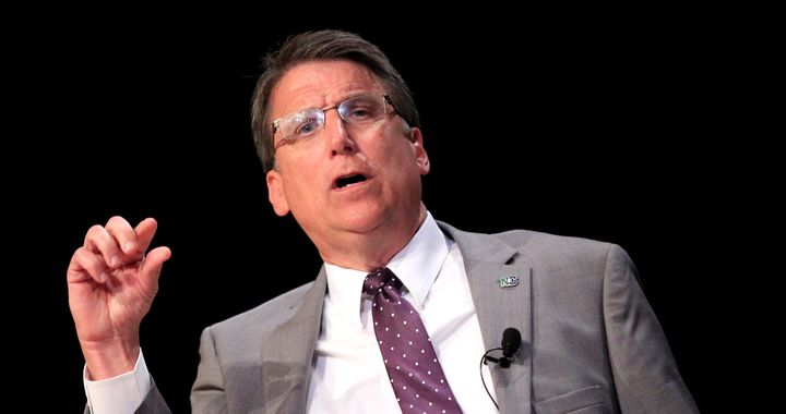North Carolina Gov. Pat McCrory (R) is facing a tight re-election race.