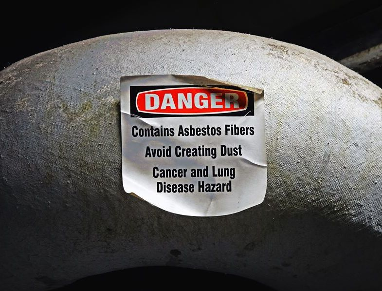Asbestos is a known human carcinogen, but remains legal and lethal in the United States.