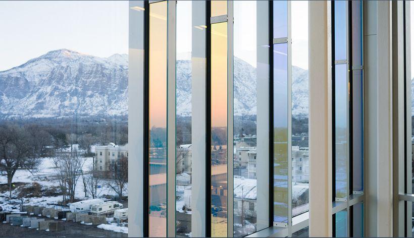 Catherine Widgery. Sky Veil: Juvenile Courthouse in Ogden, Utah. (day)