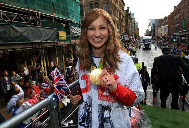 Olympic cyclist Joanna Rowsell Shand at the