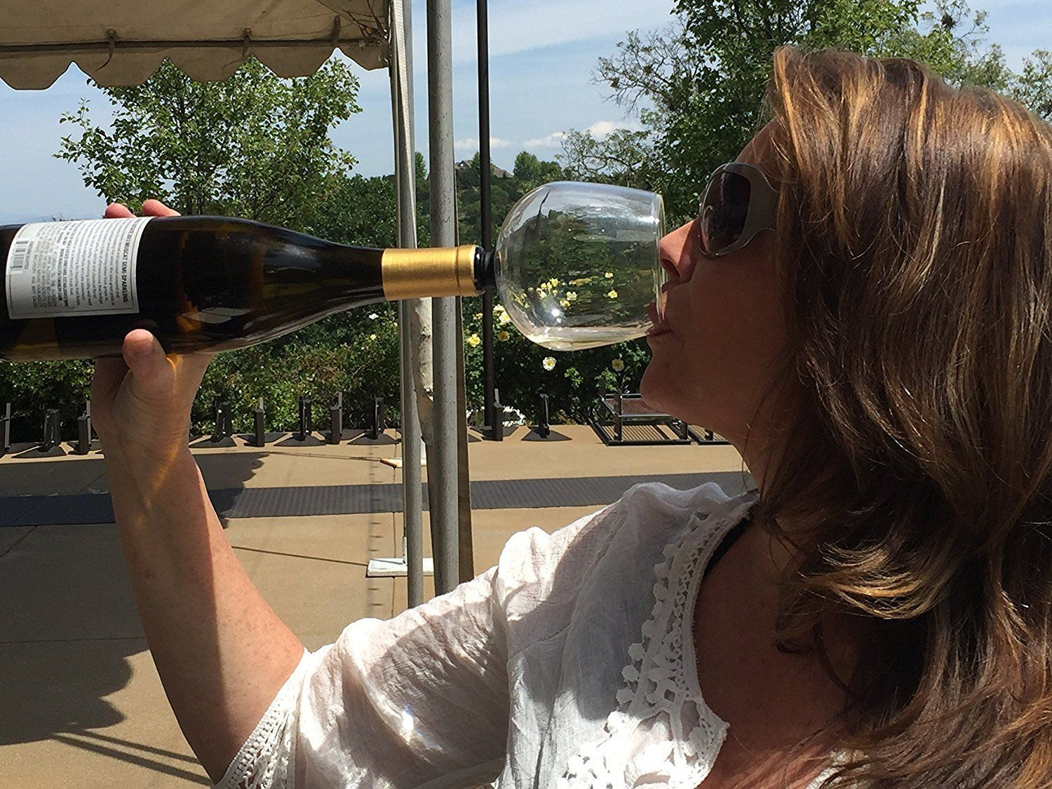 Genius Invention Allows You To Turn Your Wine Bottle Into One Big