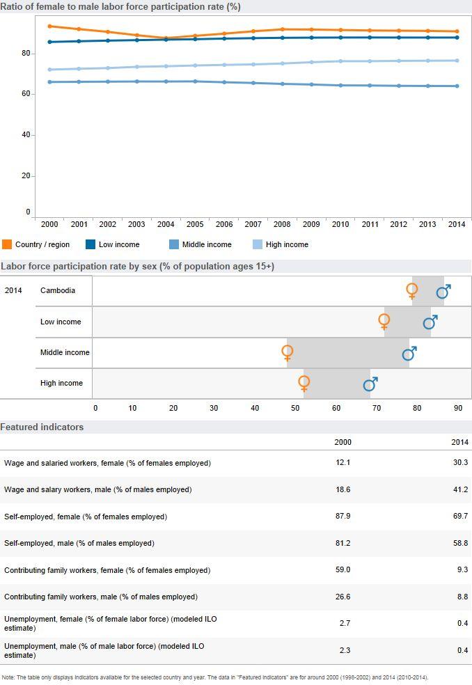 Economic Opportunities (Gender, Cambodia)
