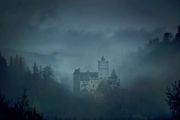 Bran Castle nestles high in the heart of