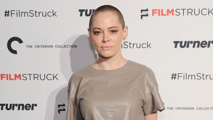 """Rose McGowan urged Hollywood to """"take a stand"""" against working with """"predators"""" in the industry on Twitter Sunday."""