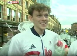 This Pair Of Jokers Managed To Blag Their Way Into The Olympic Heroes Parade