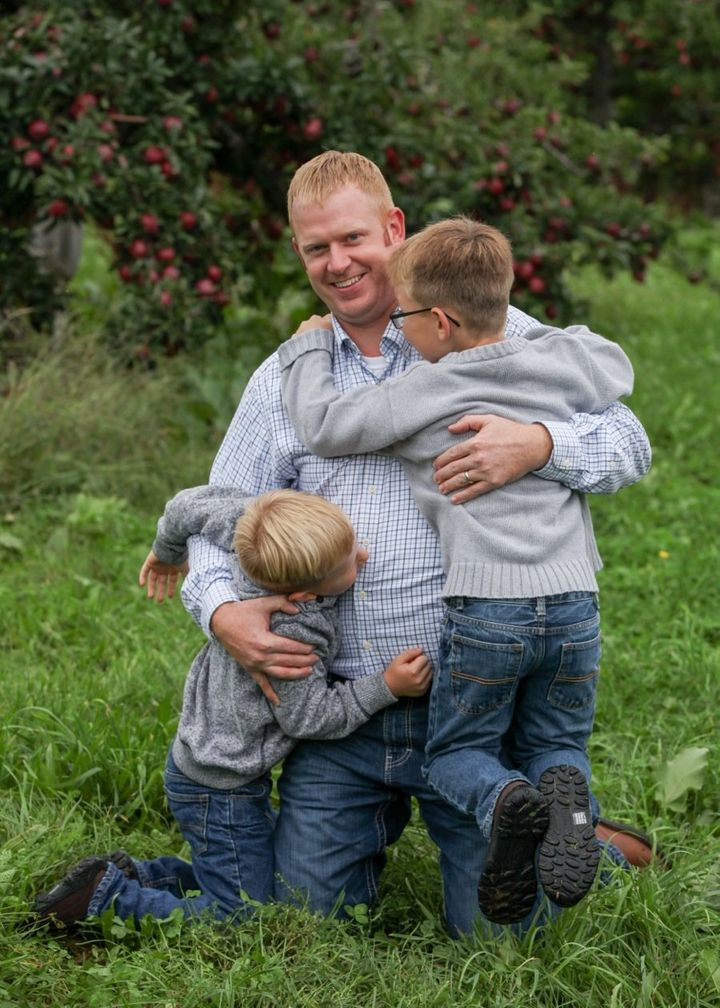 """Derek Steelewrote a powerful letter to his sons about what it means to """"be a man."""""""