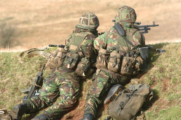 22% of all British Army recruits are under 18 years
