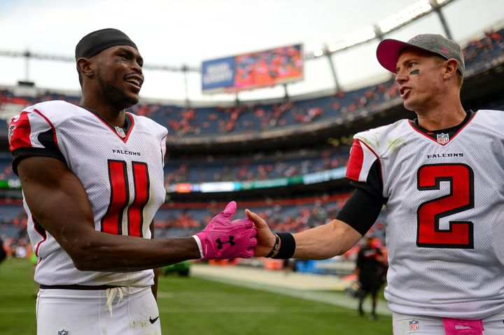Wide receiver Julio Jones and quarterback Matt Ryan are perhaps the best offensive duo in the NFL.