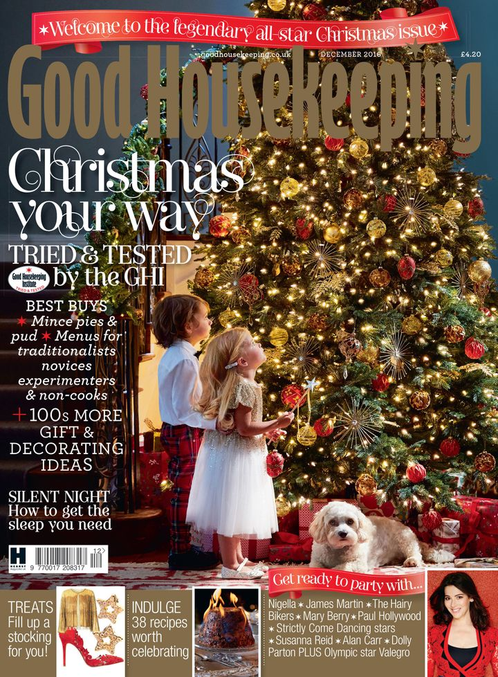 The Good Housekeeping December issue.