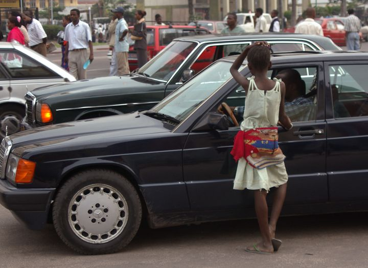 Boys living on the streets of Kinshasa can make money through manual labor, but girls are considered more 'useful&rsquo