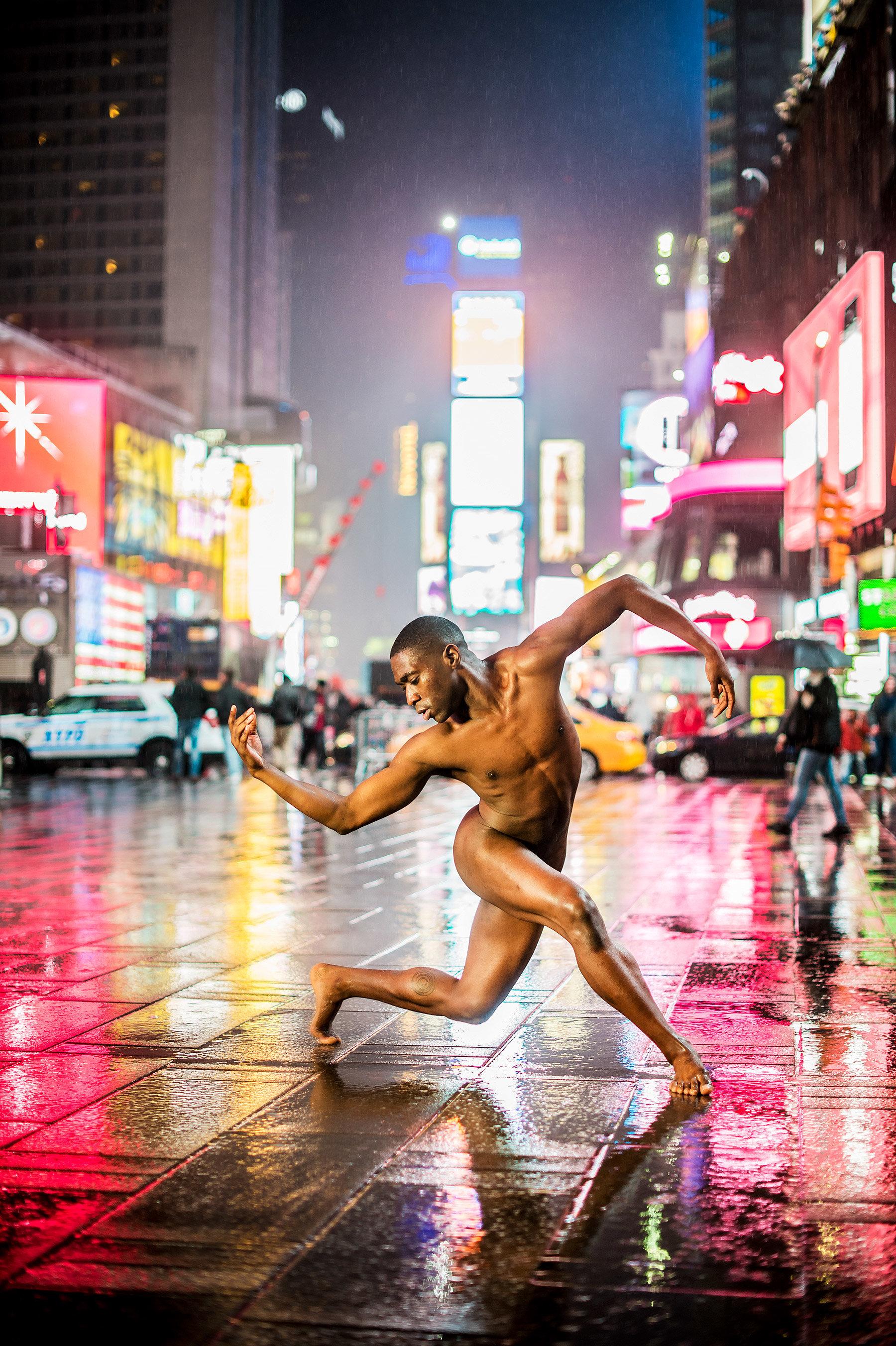 Black Naked men ballet