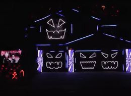 This Musical Haunted House Will Light Up Your World