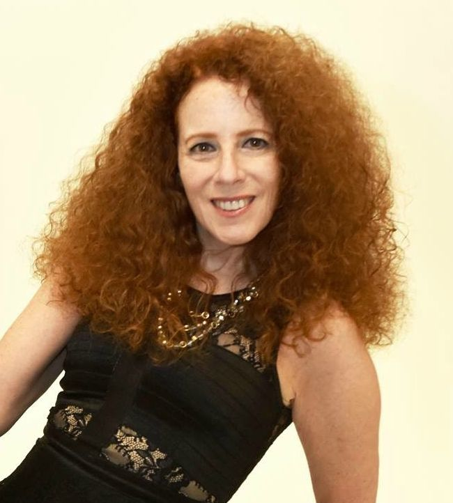 Carol Ruth Weber and her curly head of hair