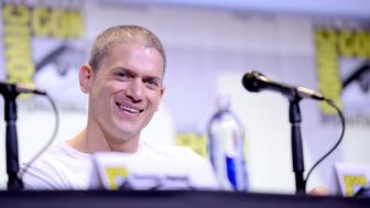 SAN DIEGO, CA - JULY 24:  Actor Wentworth Miller attends the  Fox Action Showcase: 'Prison Break' And '24: Legacy' during Comic-Con International 2016 at San Diego Convention Center on July 24, 2016 in San Diego, California.  (Photo by Albert L. Ortega/Getty Images)
