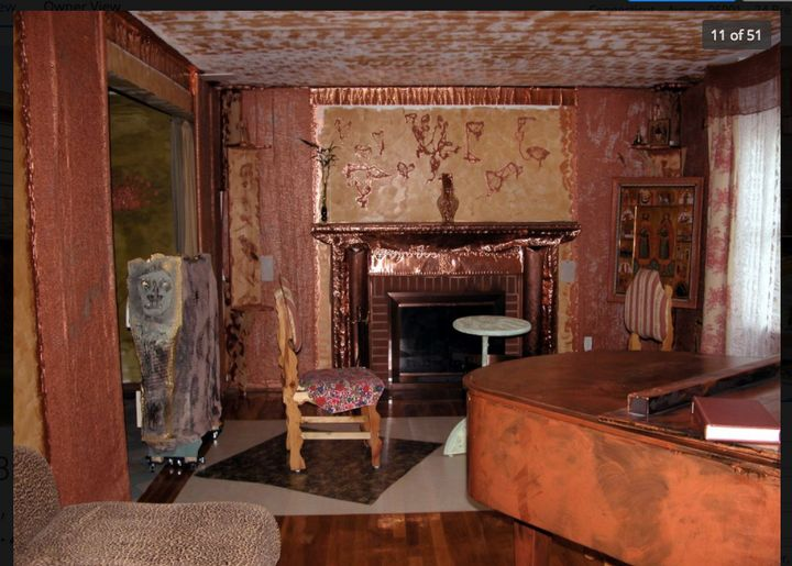 Is this hideous living room the American dream, or a haunted house in waiting —or both?