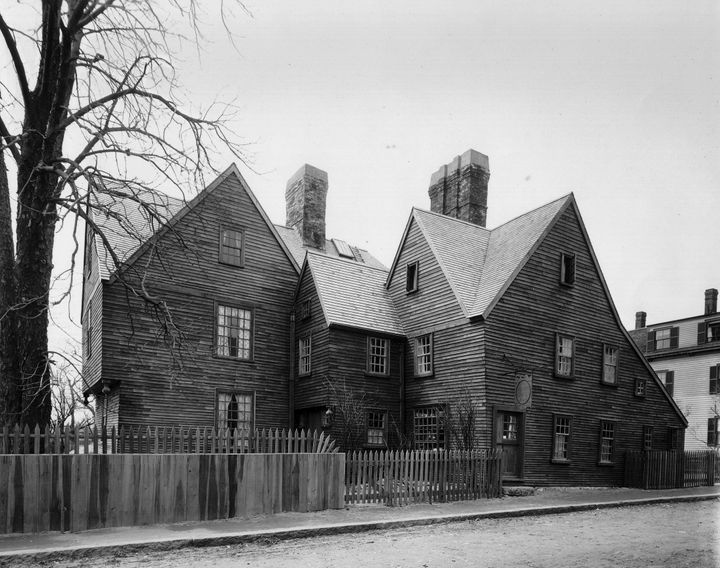 The real House of Seven Gables.