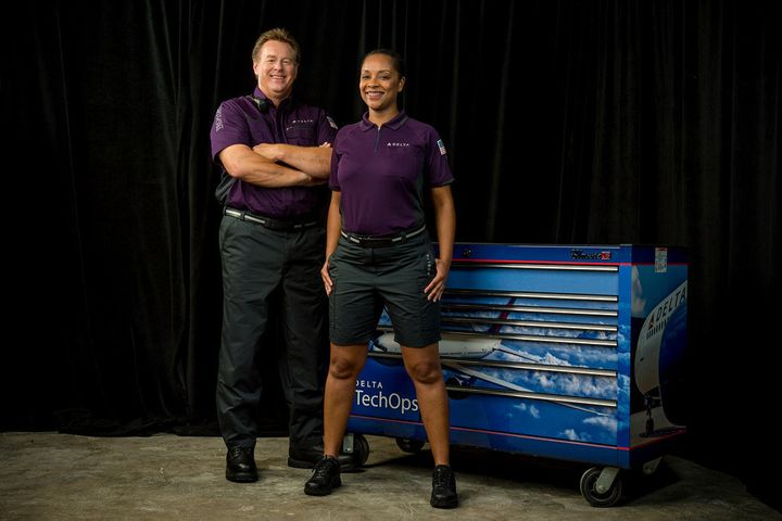 Technical operations employeeswill wear work shirtsand polos with cargo pants and shorts.
