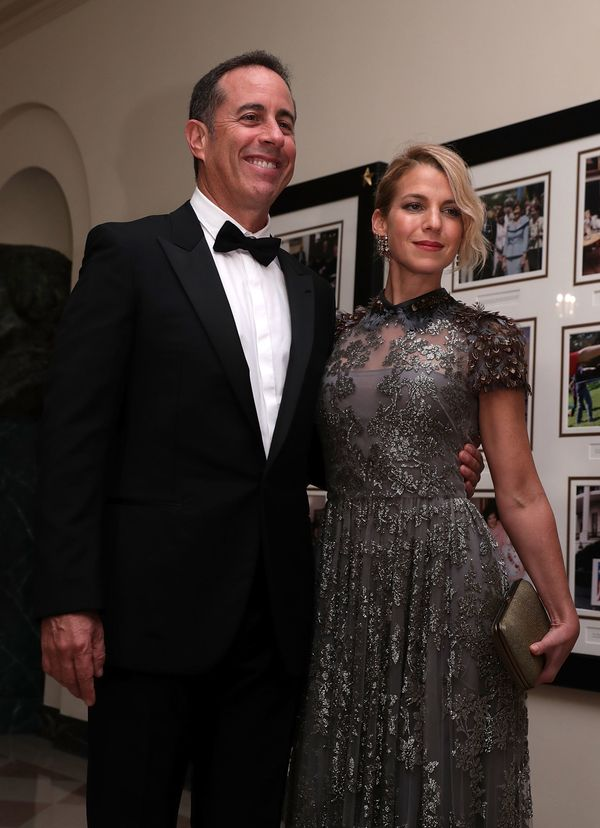Comedian Jerry Seinfeld and his wife Jessica Seinfeld (Photo by Alex Wong/Getty Images)