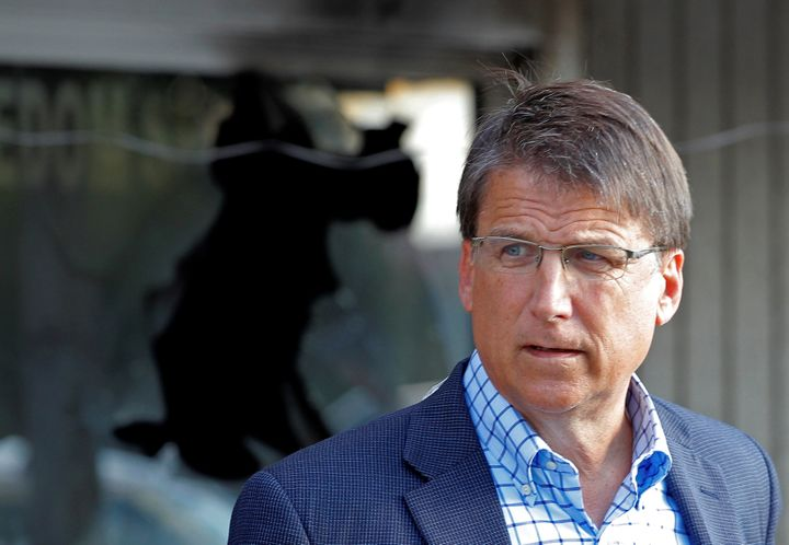 North Carolina Gov. Pat McCrory (R) is running for governor against state Attorney General Roy Cooper.