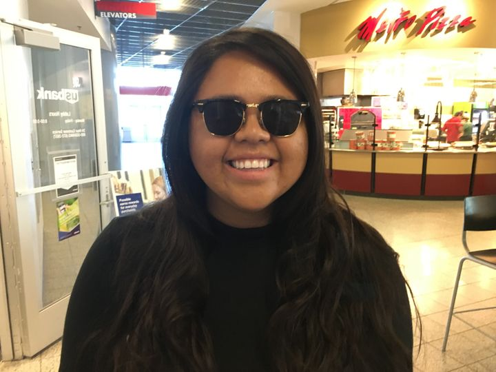 Ana Santos, 21, a politics and communicationsstudentat University of Nevada, Las Vegas, says she's undecided in t