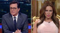Fake Melania Trump Hilariously Defends Her Husband To Stephen