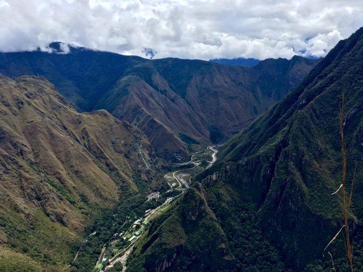 The unforgiving mountains of Peru.