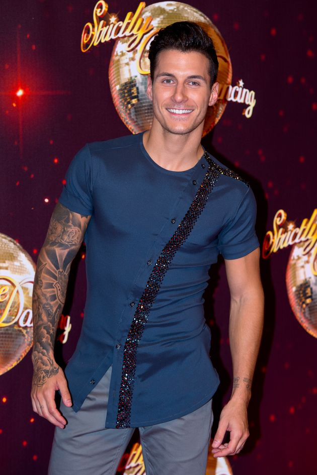 Gorka Marquez has stepped in to rehearse with Anastacia as Brendan