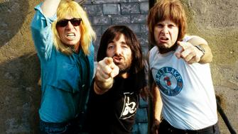 UNSPECIFIED - circa 1984  Photo of SPINAL TAP  (Photo by Pete Cronin/Redferns)