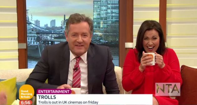Susanna Reid couldn't believe Justin Timberlake called her