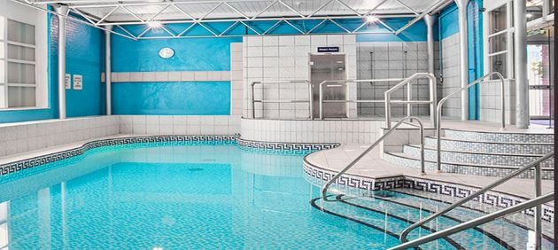 Students have been enjoying the pool and gym at the hotel while they wait for their accommodation to...