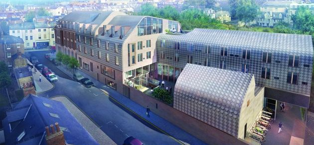 Cohen Quad will have 100 rooms for Exeter College students when it is