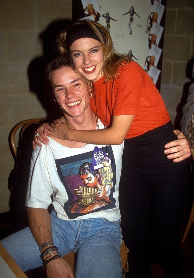 The way they were: Kylie and Guy pictured in