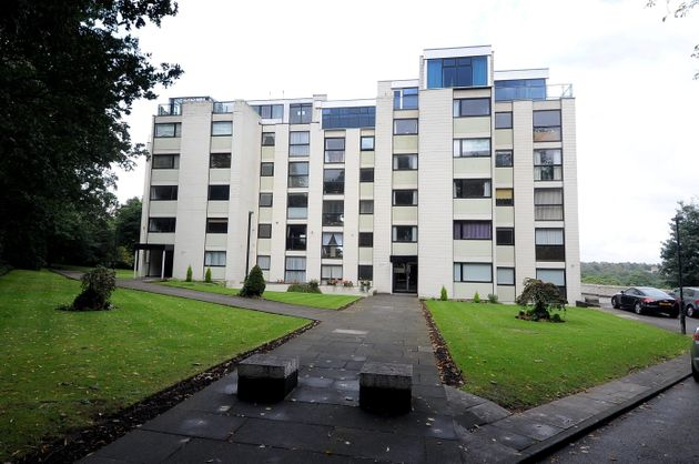 Jimmy Savile's apartment in the Roundhay Park are of