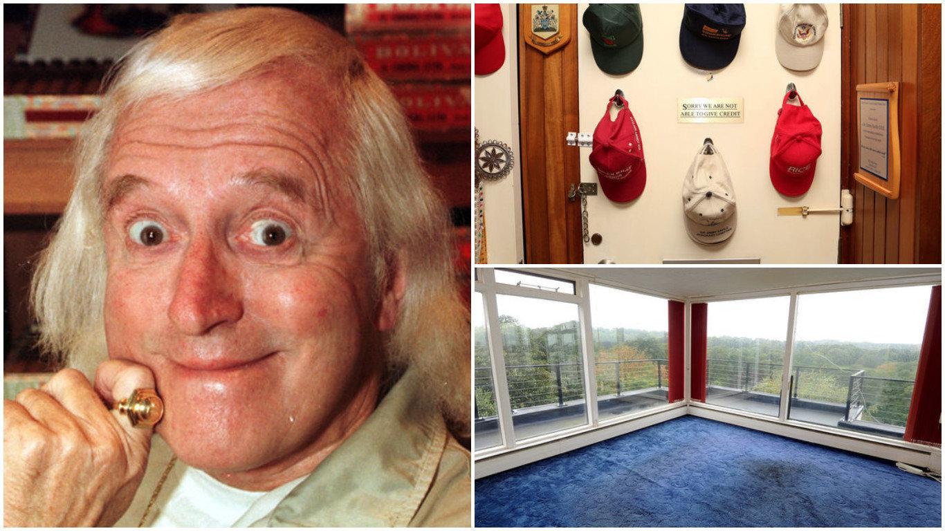 Home Until His Death, Savile's Flat Couldn't Escape His