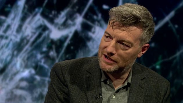 Charlie Brooker appeared on Newsnight to discuss his latest series of 'Black