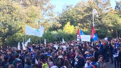Thousands Of Irish Students March In Dublin For Free University