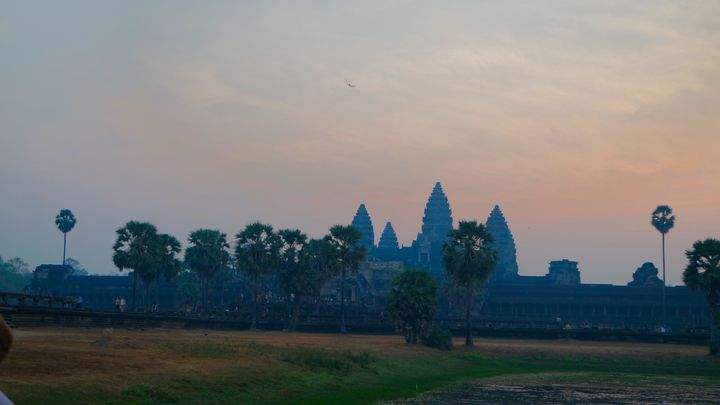 one unforgettable sunrise in Angkor Wat
