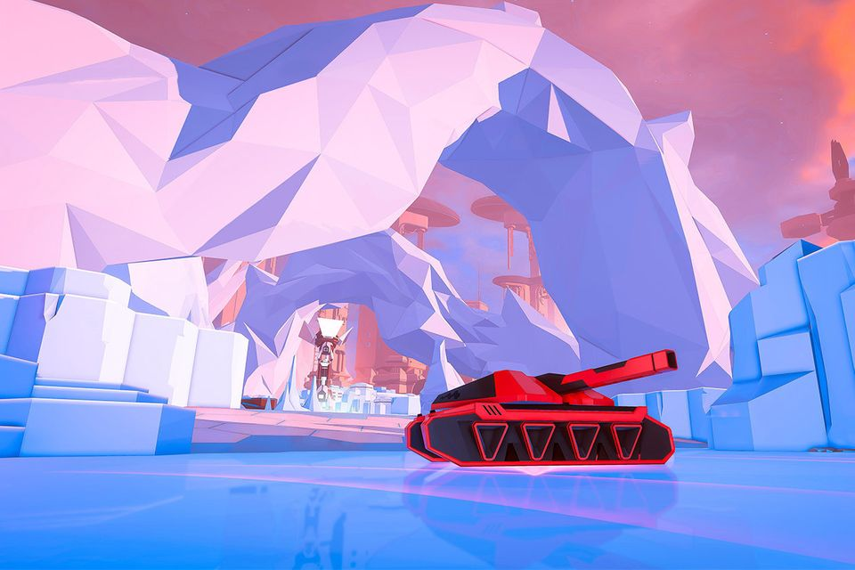 Contrary to its retro feel, Battlezone is visually stunning on