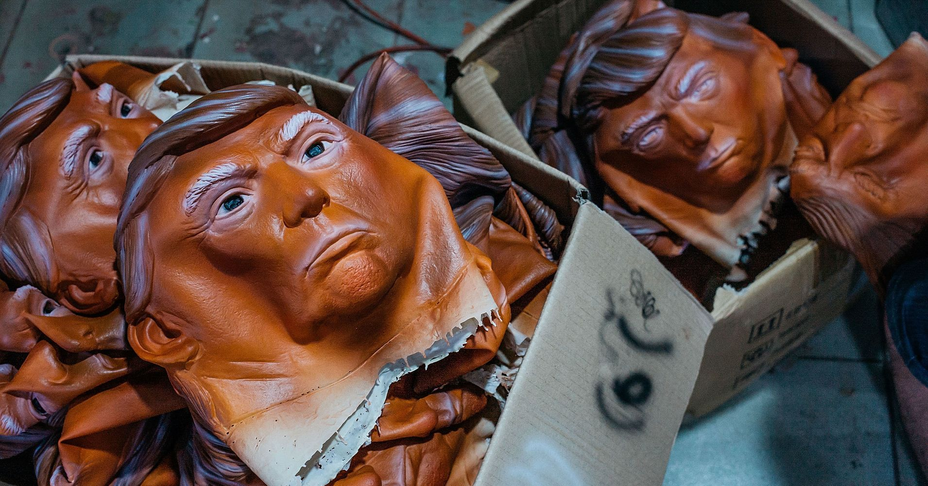 These Donald Trump Masks Are The Scariest Thing You'll See This ...